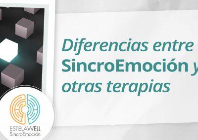 Diferencias entre SincroEmoción y otras terapias