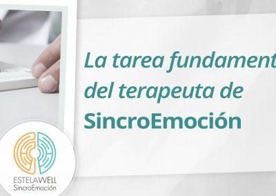 La tarea fundamental del terapeuta de SincroEmoción